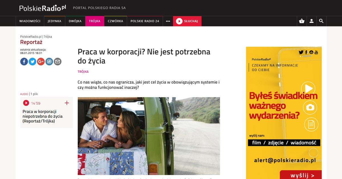 Wywiad z Witoldem Zbijewskim - Polskie Radio